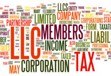 C Corporation vs S Corporation vs LLC Table