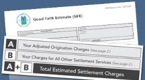 Good Faith Estimate - GFE