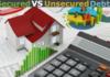 secured vs unsecured debt