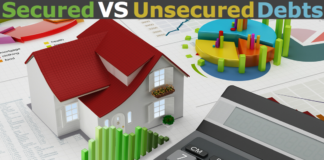 secured vs unsecured debt