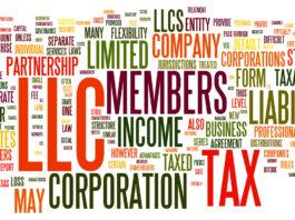 C Corporation vs S Corporation vs LLC Table