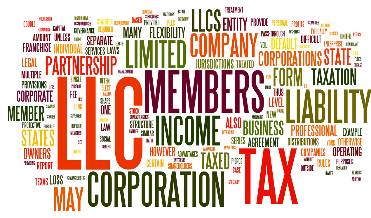 C Corporation vs S Corporation vs LLC Table - The Money Alert