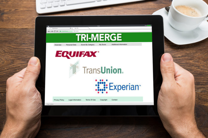 Tri Merge Credit Report