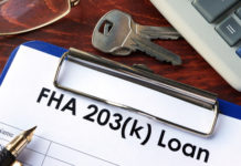 FHA 203k rehab loan